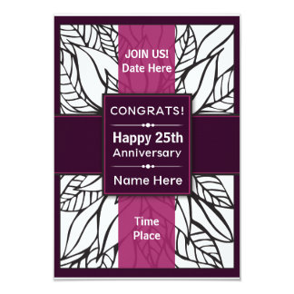 Congrats/Happy Anniversary Invite