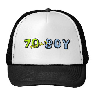 Congrats! He's just 70 years old boy. Trucker Hat