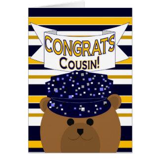 Congrats Navy Active Duty - Cousin Card