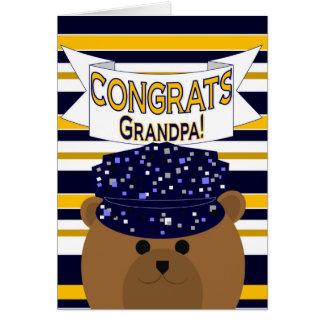 Congrats Navy Active Duty - Grandpa / Grandfather Card