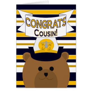 Congrats Navy - Cousin Card