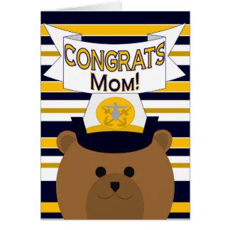 Congrats Navy Mom Card