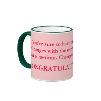 congrats on baby cup ringer coffee mug