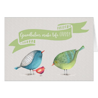 Congrats on Grandchild - Grandbabies make life GRA Card