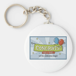 Congrats on the new baby! keychain