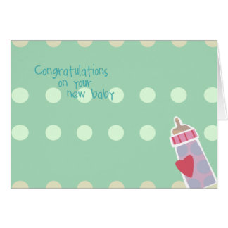 Congrats On Your New Baby Cards