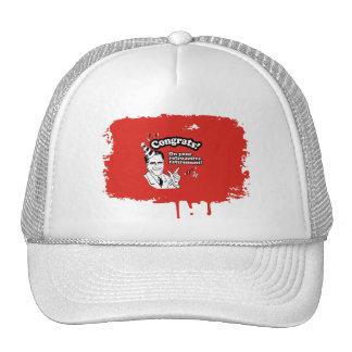 CONGRATS ON YOUR RETROACTIVE RETIREMENT TRUCKER HAT