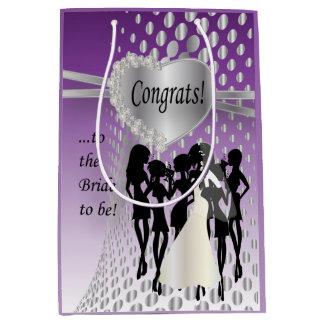 Congrats to the Bride to Be Medium Gift Bag