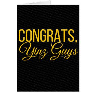 Congrats, Yinz Card