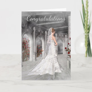 Congratu;ations on your Wedding Card