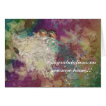 Congratualtions on your new home - Barn Swallows Greeting Card