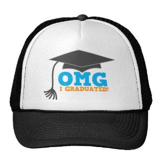 ¡Congratuations de OMG I graduado! Gorros