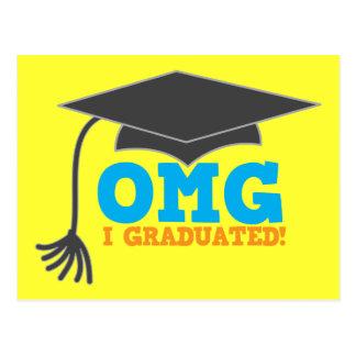 ¡Congratuations de OMG I graduado