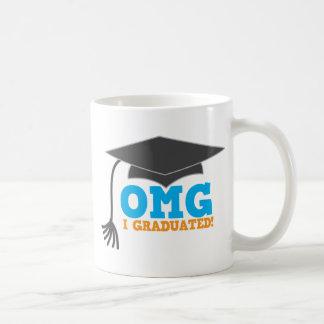 ¡Congratuations de OMG I graduado! Taza Clásica