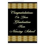 Congratuations en su graduación de cuidar el Sc Felicitacion