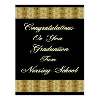 Congratuations On Your Graduation From Nursing Sc Postcard
