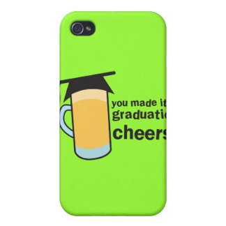 congratuations you graduated! BEER glass iPhone 4 Cover