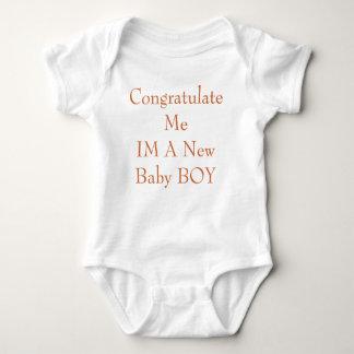 Congratulate MeIM A New Baby BOY Shirt