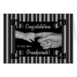 Congratulate New Grandparents Greeting Card