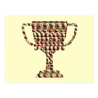 Congratulate with AWARD Winner  Symbols Postcard