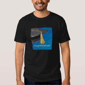 Congratulation Black and Blue Shirt