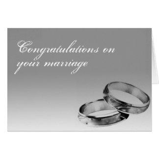 Congratulation Marriage Card
