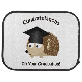 Congratulation on Your Graduation Hedgehog Car Mat