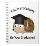 Congratulation on Your Graduation Hedgehog Spiral Notebook