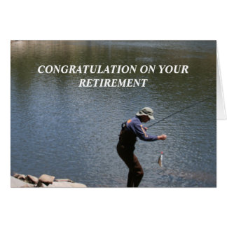CONGRATULATION ON YOUR RETIREMENT CARD