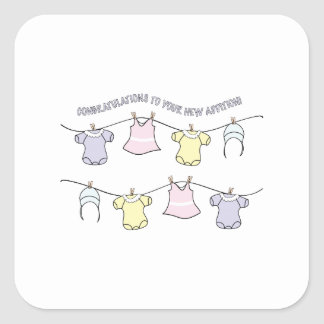 Congratulation To Your New Addition! Stickers