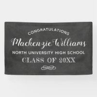 Congratulations 2018 Graduate | Chalkboard Party Banner