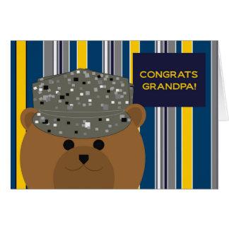 Congratulations Air Force Grandpa Card