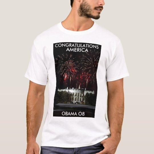 Congratulations America! T-Shirt