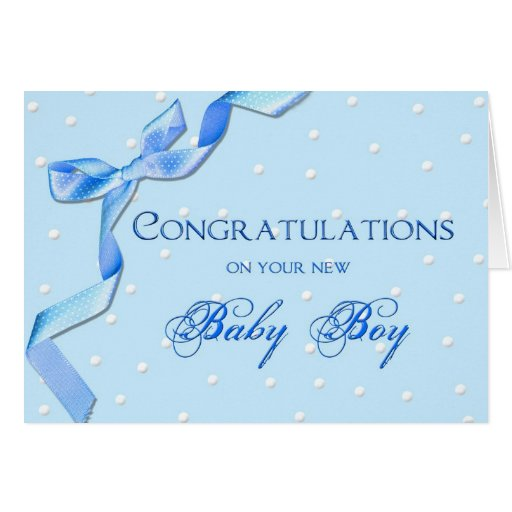 congratulations card for baby
