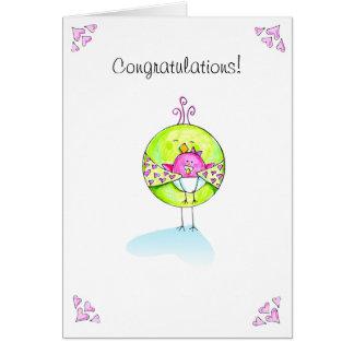 Congratulations Baby Girl Card