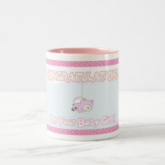 Congratulations Baby Girl - Mug