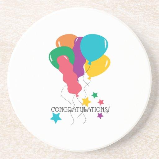 Congratulations! Beverage Coasters