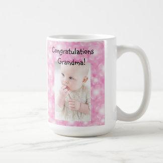 Congratulations-Birth Announcement Mug for a Baby