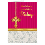 Congratulations Bishop Ordination In Blended Color Greeting Card