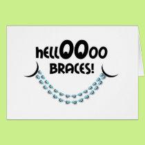 Congratulations Braces - Hello Braces Smile Card