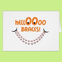 Congratulations Braces - Hello Braces Smile Tanger Card