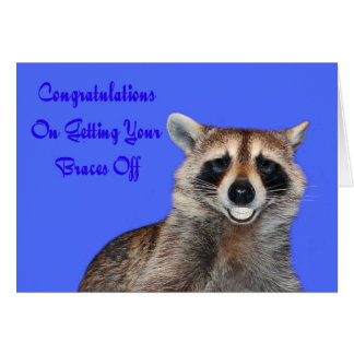 Congratulations Braces Off greeting card