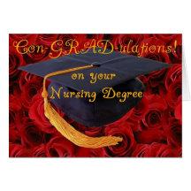 Congratulations/BScN- Nursing Degree Cards