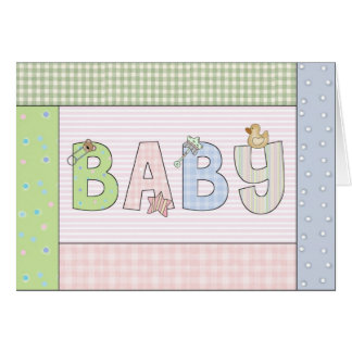 Congratulations Card: Baby Greeting Card