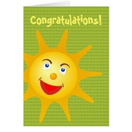 Congratulations! - Card Template | Zazzle