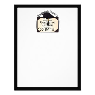 Congratulations! Certificate of Completion Diploma Letterhead