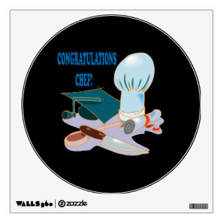 Congratulations Chef Wall Decal