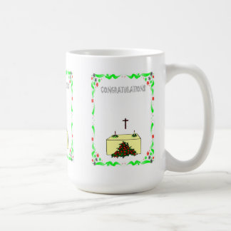 Congratulations, church coffee mug