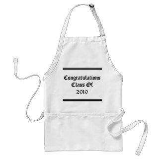 Congratulations Class Of 2010 Adult Apron