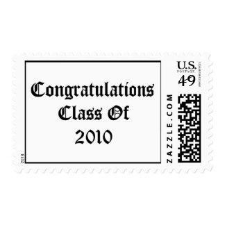 Congratulations Class Of 2010 Postage